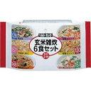 ヘルシーキユーピー 玄米雑炊 6食セット 【キユーピー: 健康食品 ダイエットフード】