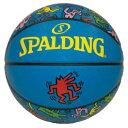キースヘリング バスケットボール 5号球 #83-363J 【スポルディング: スポーツ・アウトドア スポーツ・アウトドア雑貨 その他】【SPALDING】