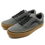 バンズ オールドスクール プロ [サイズ:27.5cm(US9.5)] [カラー:グレー×ブラック×ガム] #VN0A346SGWY 【バンズ: 靴 メンズ靴 スニーカー】【VANS VANS OLD SKOOL PRO GREY/BLACK/GUM】