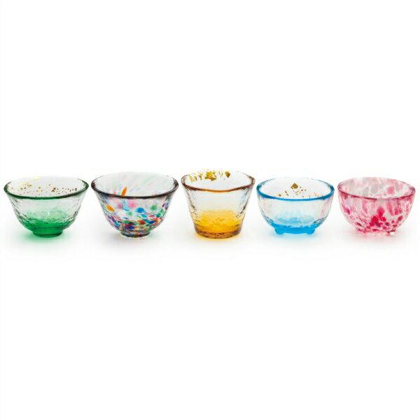 石塚硝子津軽びいどろ五様ミニグラスセットFS49573キッチン用品:食器・食卓用品:食器:和食器:カ