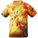 【ニッタク】 スカイリーフシャツ(ユニセックス) [サイズ:3S] [カラー:イエロー] #NW-2180-60 【スポーツ・アウトドア:卓...