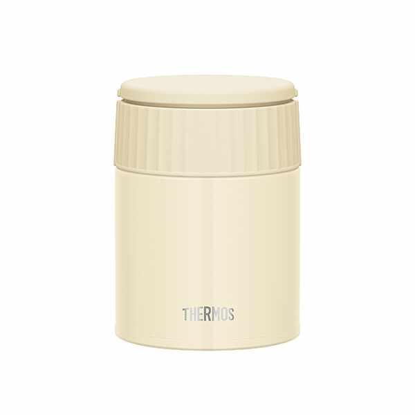 サーモス真空断熱スープジャ—JBQ401[容量:400ml][カラー:バニラ] JBQ-401-VA