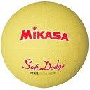 【ミカサ】 ソフトドッジボール2号 [カラー:イエロー] #STD1R-Y 【スポーツ・アウトドア:レクリエーションスポーツ:ドッジボール】