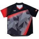 【ティーエスピ-】 ゲームシャツ レディスアステルシャツ [サイズ:XS] [カラー:ブラック] #032417-0020 【スポーツ・アウトドア:卓球:ウェア:メンズウェア:シャツ】