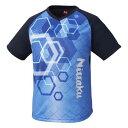 【ニッタク】 サンサンTシャツ(ユニセックス) [サイズ:XO] [カラー:ブルー] #NX-2092-09 【スポーツ・アウトドア:卓球:ウェア:メンズウェア:シャツ】