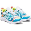 【アシックス】 SOULYTE PS ジュニア [サイズ:21.0cm] [カラー:ホワイト×アクアリウム] #1014A098-100 【靴_メンズ靴_スニーカー】