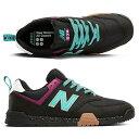 ショッピングニューバランス 【ニューバランス】 ニューバランス All Coasts AM574TAC [サイズ:26.5cm (US8.5) Dワイズ] [カラー:ブラック×ティール] 【靴_メンズ靴_スニーカー】