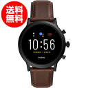 FOSSIL(フォッシル) 腕時計 タッチスクリーンスマートウォッチ ジェネレーション5 FTW4026 正規輸入品 ブラウン