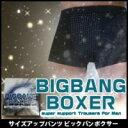 ビッグバンボクサー 【男性用 メンズ インナー パンツ 下着 陰イオン繊維 磁気繊維 磁力イオン サイズアップ 遠赤外線】