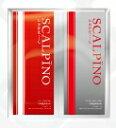 【BSP】【C-3】 スカルピーーーノ 薬用スカルプシャンプー&コンディショナー 各10ml トライアルパウチ ジャポーネーゼの香り (赤)