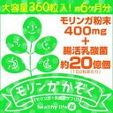 【送料無料 メール便発送となります。】【モリンガ家族 108g(300mg×360粒)】乳酸菌 ラクトフェリン 食物繊維 ダイエット 腸内環境