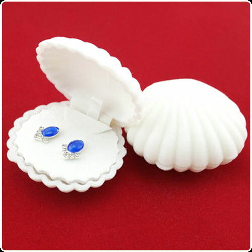 メール便 不可 貝がら モチーフ ピアスケース貝殻 指輪 ケース かいがら ピアス ケースジュエリー アクセ アクセサリー 指輪 レディース おもちゃリング TOYリング 結婚指輪 モチーフ