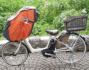 LAKIA(ラキア)チャイルドシートレインカバー【前用】(フロント用)まえ幼児座席用風防レインカバー【子供乗せ】【自転車チャイルドシートレインカバー】(bebike)