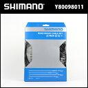 シマノ ロード用  PTFE ブレーキケーブルセット (ブラック) (Y80098011) SHIMANO ケーブルセット 自転車 ロード bebike