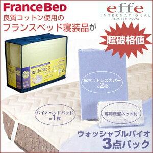 送料無料 激安!フランスベッド用品セットニオイや雑菌の繁殖を抑える抗菌防臭タイプ170 クイーンサイズ 用品セット ベッドインバッグB ※ご購入いただいた方限定商品
