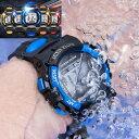 2サイズ 5カラー 腕時計 子供 ジュニア デジタル スポー...