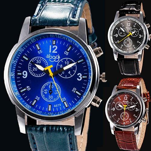 メンズ 腕時計 アナログ ウォッチ ケース付き レディース メンズ腕時計 おしゃれ 男性 アナログ レディース腕時計 黒 ブラウン