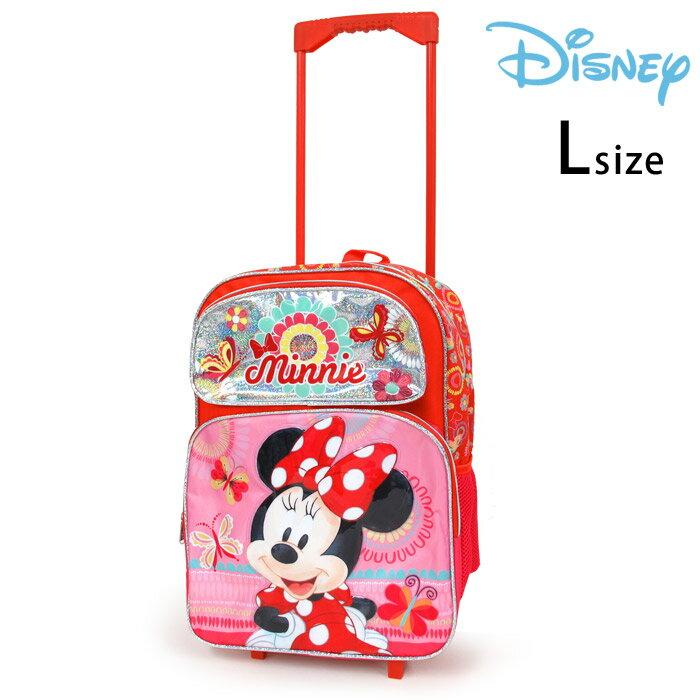 ディズニーミニーマウス子供用キャリーケースLキャリーバック女の子キッズコロコロ旅行かばんあす楽対応