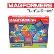 マグフォーマー 30ピース MAGFORMERS レインボーセット マグネット おもちゃ くっつくブロック【あす楽対応】