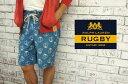 【RUGBY by Ralph Lauren】ラルフローレン ラグビー ウォッシュ加工 マルチ アンカー サーフショーツ【あす楽】