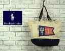 【POLO by Ralph Lauren】ラルフローレン フラッグ ワッペン付き キャンバス トートバック【あす楽対応】
