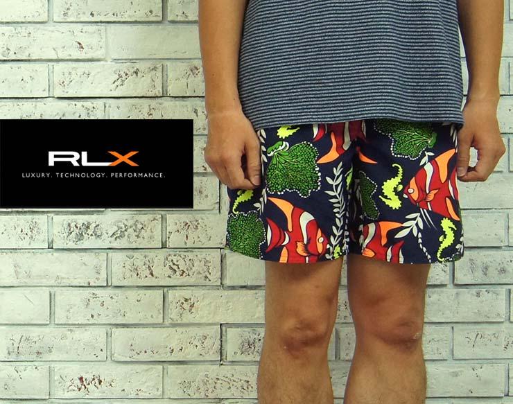 【小型宅配便 300円】【RLX】ラルフローレン RLX Tropical Fish サーフ ショーツ