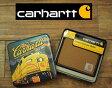 Carhartt CARHARTT カーハート キャンバス×レザー ウォレット/BROWN  あす楽