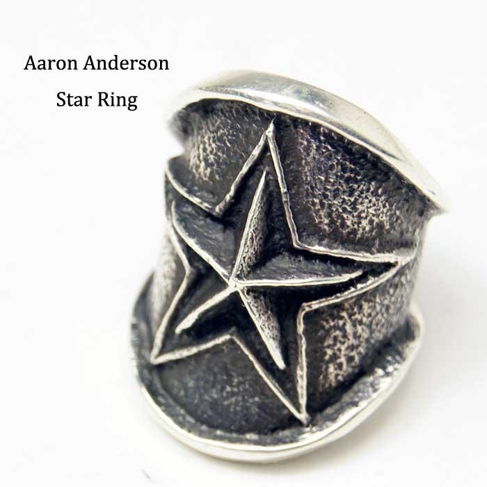 Aaron Anderson star Ring アーロンアンダーソン スター リング  インディアンジュエリー アーロンアンダーソン リング