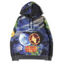 ショッピングシュプリーム Supreme シュプリーム パーカー 18SS UNDERCOVER / PUBLIC ENEMY スウェットパーカー Hooded Sweatshirt ブラック M 【メンズ】【中古】【K2831】