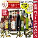 贈り物に海外旅行気分を♪世界のビールを飲み比べ♪人気の海外ビール12本セット【第57弾