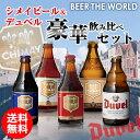シメイビール&デュベル豪華飲み比べセット330ml瓶×計5本輸入ビール海外ビールベルギートラピスト詰め合わせ長S