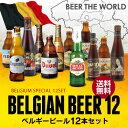 【送料無料】''Beer王国''ベルギービール12本セット【