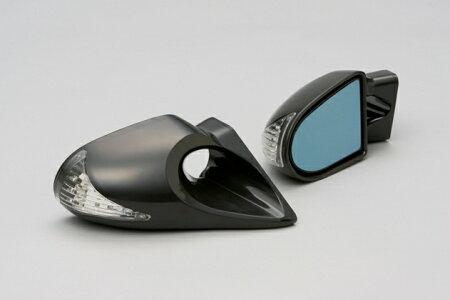 GTミラー BK6 LED付き エアロミラー 電動 スバル ミツビシ マツダ車