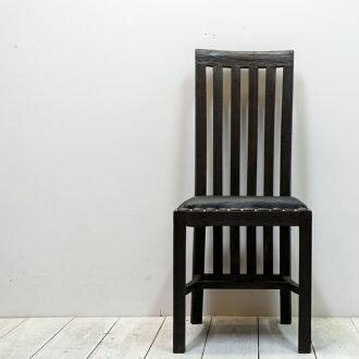 亞洲的亞洲家具-就餐椅子/桑托斯椅子(古木皮革)/家具巴黎家具就餐椅子椅子老奇克