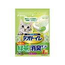 ショッピング猫砂 1週間消臭・抗菌デオトイレ 飛び散らない緑茶成分入り消臭サンド 2L コンビニ受取対応商品