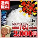 おためし無洗米「心」 2kg2個セット 無洗米 九州産 米 2kg 送料無料 2キロ 送料込み