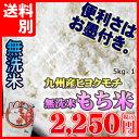 平成27年熊本県産産無洗米「もち米」5kg準備楽々幼稚園・保育園・小学校・自治体・会社でのもちつき大