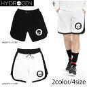 HYDROGEN メンズ スウェット ショートパンツ 200630 ライン ロゴ ドクロ ホワイト ブラック 5-0028 2017春夏 コレクション ハイドロゲン ショーツ ハーフパンツ CYBER HOCKEY SHORTS ユニセックス