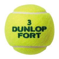 【送料無料】ダンロップフォート硬式テニスボールFORT(フォート)2球入1箱(30缶/60球)_4907913828362_97