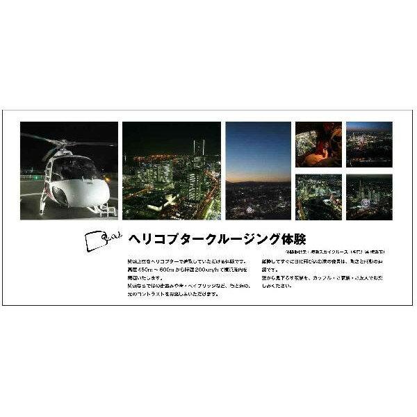 ヘリコプタークルージング体験 体験ギフト 【送...の紹介画像3