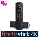 Amazon【4K】Fire TV Stick アマゾン ファイアースティック 対応音声認識リモコン付【新品・正規品】Amazonファイアースティック Fire TV Stick-Alexa 対応音声認識リモコン付属 ファイアー TV スティック アレクサ