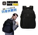 swisswin リュック ビジネスリュックサック メンズ ビジネスバッグ レディース 大容量 撥水 登山 通学 旅行 通勤用 多機能 軽量 大きめ