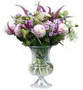 【 あす楽 】花瓶 フラワーベース ホルムガードオールドイングリッシュ ベース (L) 24cmOLD ENGLISH Vse 4343803ガラス 花器 トレー北欧 インテリア 雑貨 デンマーク 結婚祝 内祝 無料ラッピング