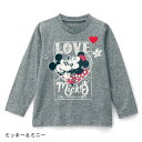 【Disney】ディズニー 名札付けワッペン付き長袖Tシャツ...