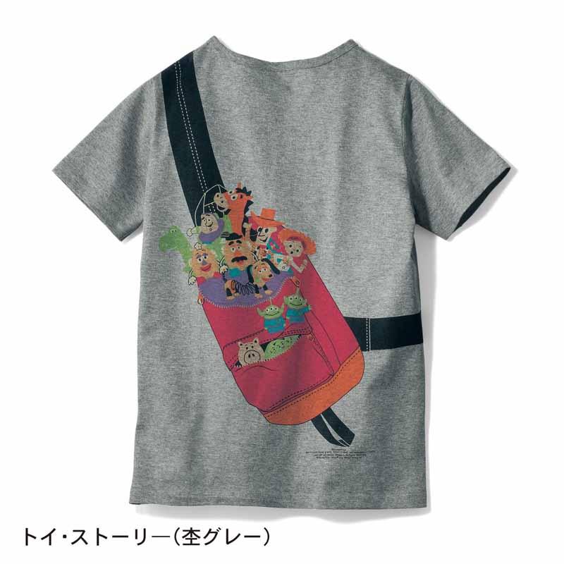 【Disney】ディズニー プリントTシャツ(レディース) 「トイ・ストーリ—(杢グレー)」 4L 5L 6L レディースファッション レディース カットソー Tシャツ