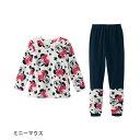 【Disney】ディズニー ボアフリース&裏起毛レギンスルー...