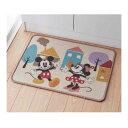 【Disney】ディズニー 洗面台前マット(バスマット) 「ミッキー&ミニー」 ◇ バス 風呂 バスルーム バスマット ミニーの日 ◇