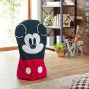 【Disney】 ディズニー 扇風機収納カバー(選べるキャラクター) 「ミッキーマウス」 ◇ ベルメゾン 家具 収納 クローゼット 押入 ◇