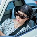 車の運転にぴったり! メガネの上からもかけられる 偏光 レンズ オーバー サングラス ◇ サングラス 眼鏡 めがね メガネ 女性 レディース かわいい オシャレ ベルメゾン ◇
