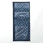 ベルメゾン 消臭・抗菌機能付き浴衣収納袋 「ネイビー」 ◇ 家具 収納 衣類 チェスト タンス 圧縮 袋 新生活 ◇